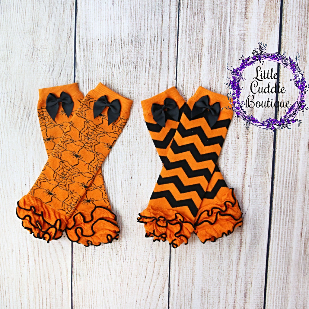 Halloween Infant/Toddler Leg Warmers