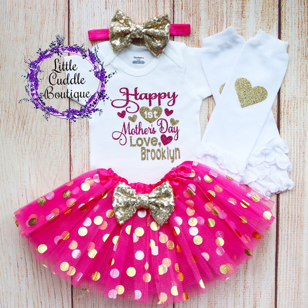 Personalized First Mother's Day Outfit