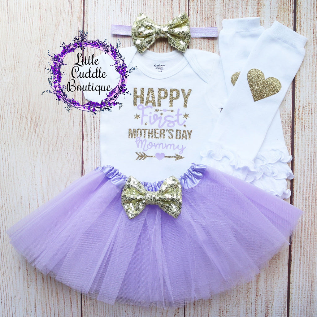 Happy First Mother's Day Tutu Outfit