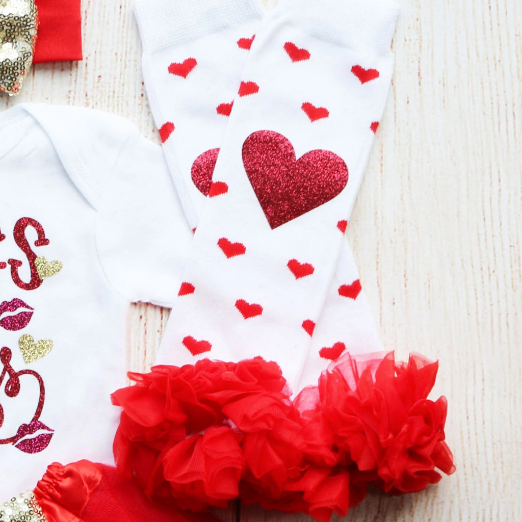 Hugs & Kisses Tutu Outfit