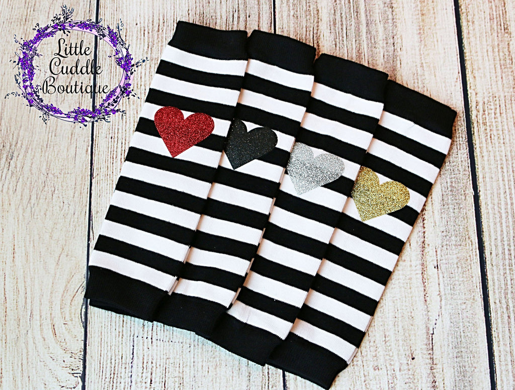 Striped Baby Leg Warmers