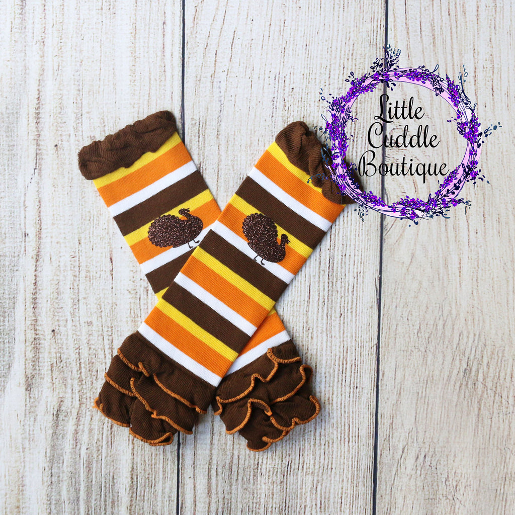 Thanksgiving Baby Leg Warmers