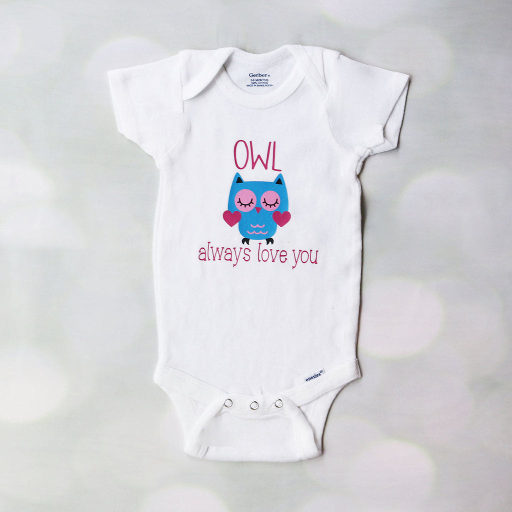 Owl Always Love You Baby Outfit