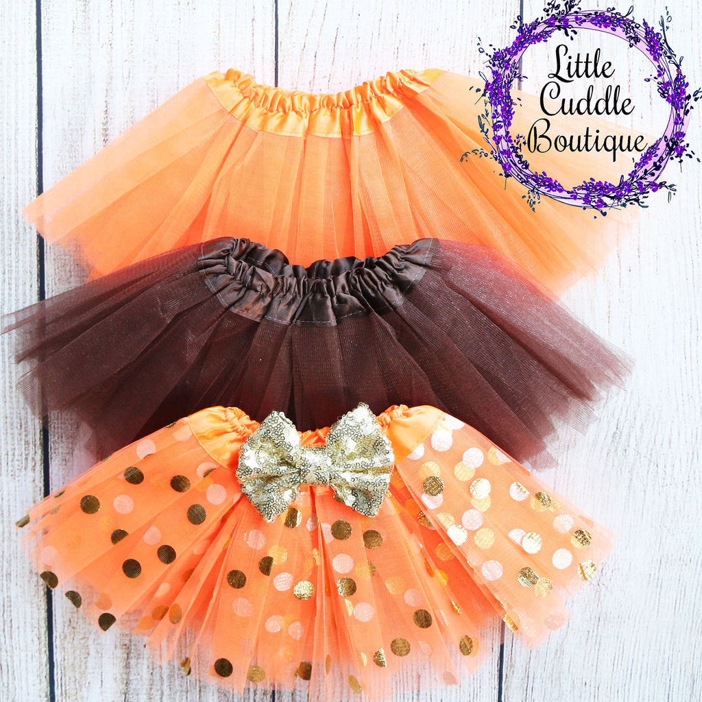 Thanksgiving Baby Tutu