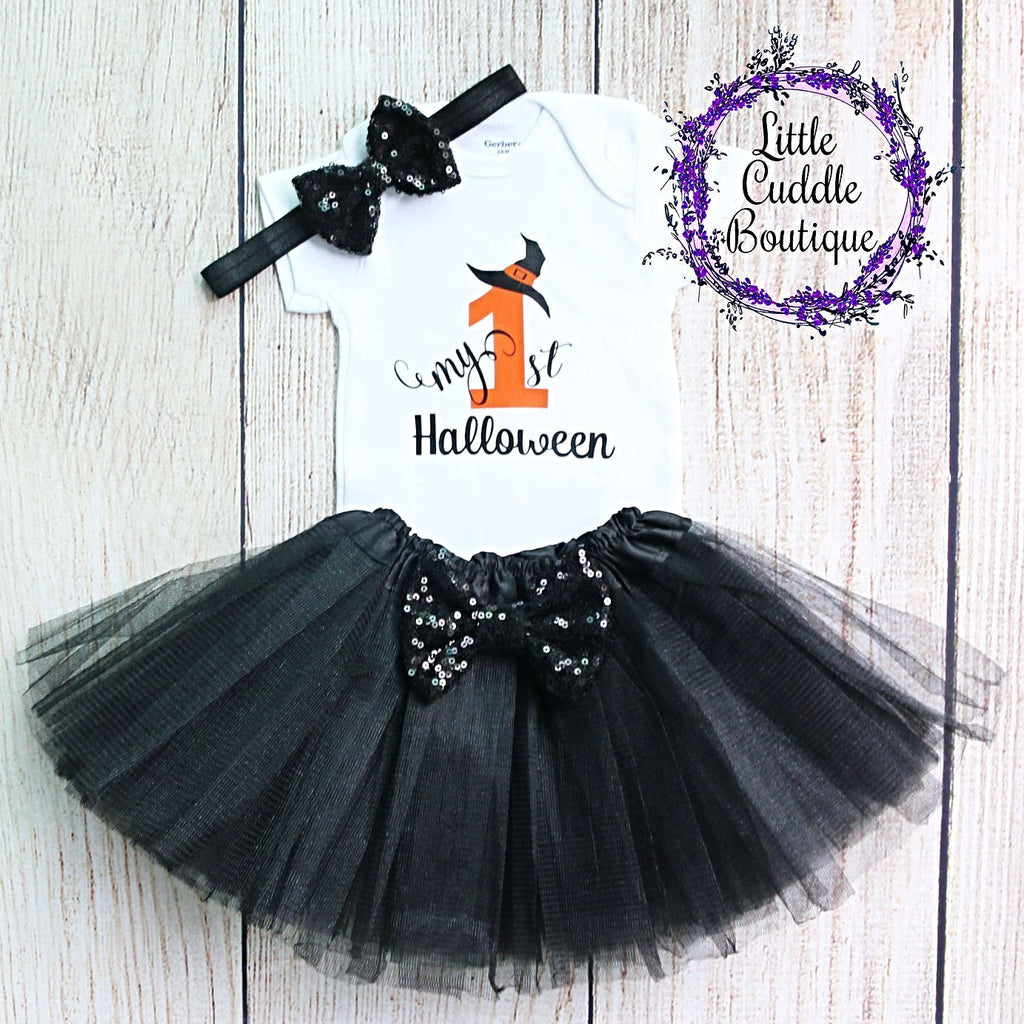 First Halloween Tutu Outfit