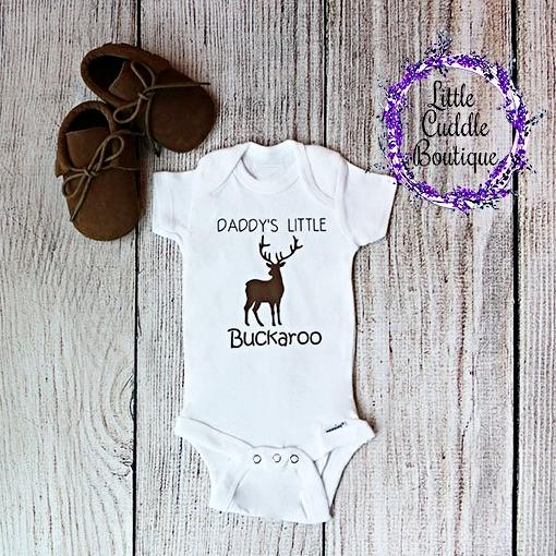 Daddy's Little Buckaroo Boy One Piece