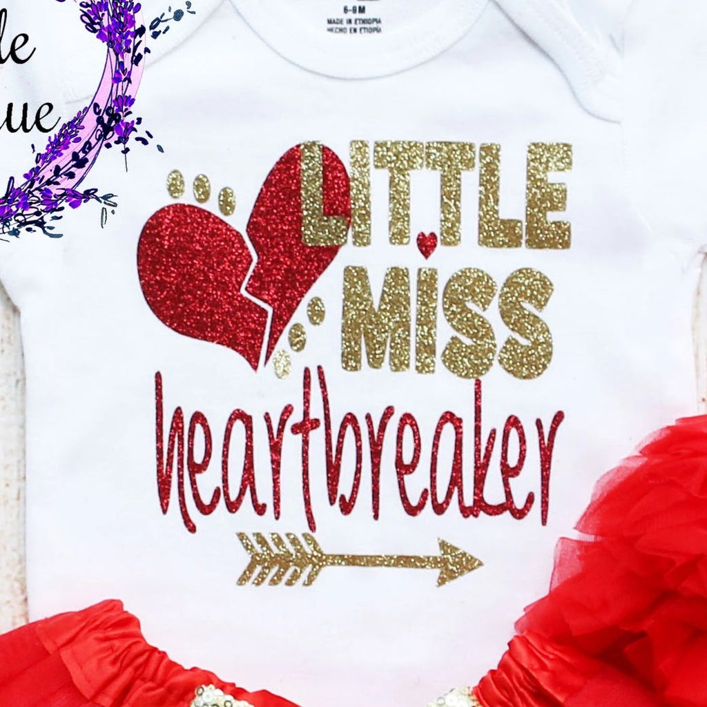 Little Miss Heartbreaker Tutu Outfit