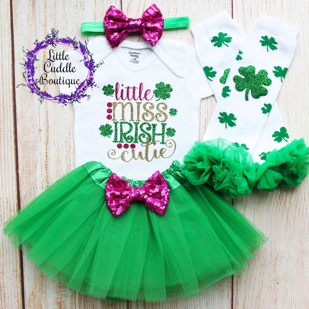 Little Miss Irish Cutie Tutu Outfit