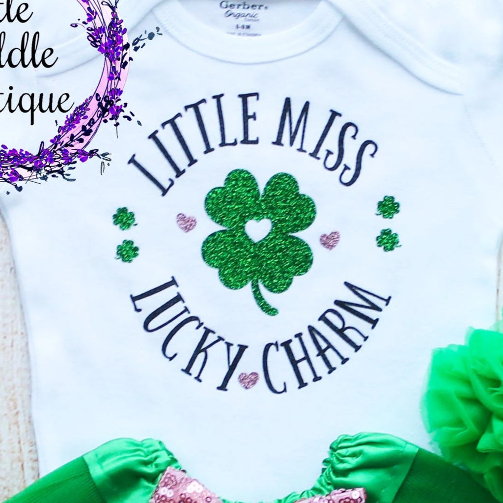 Little Miss Lucky Charm Tutu Outfit