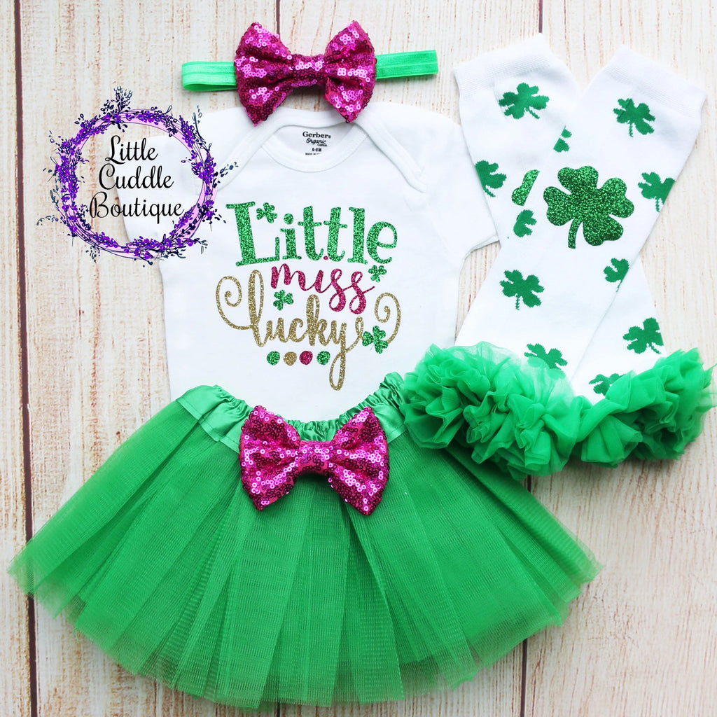 Little Miss Lucky Tutu Outfit
