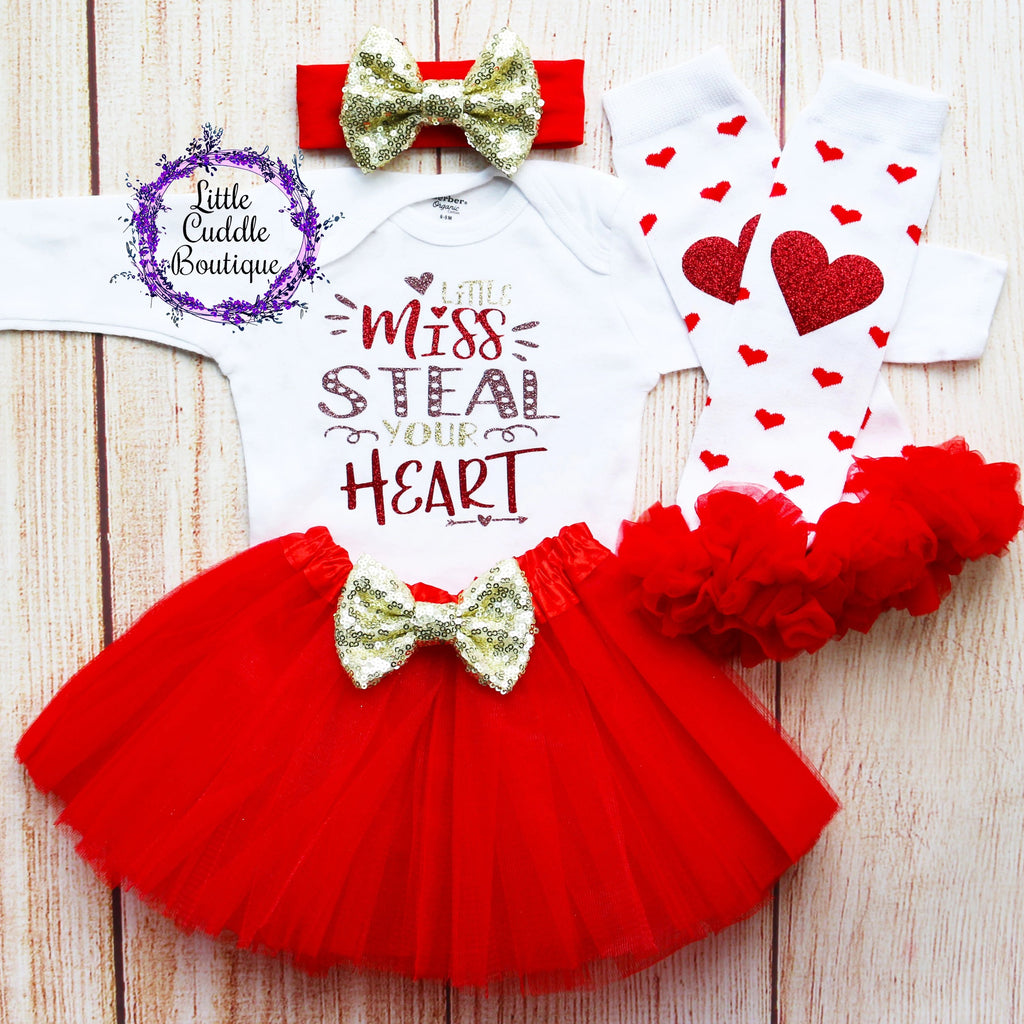 Little Miss Steal Your Heart Tutu Outfit