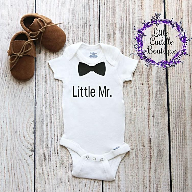 Little Mr. Baby Boy One Piece