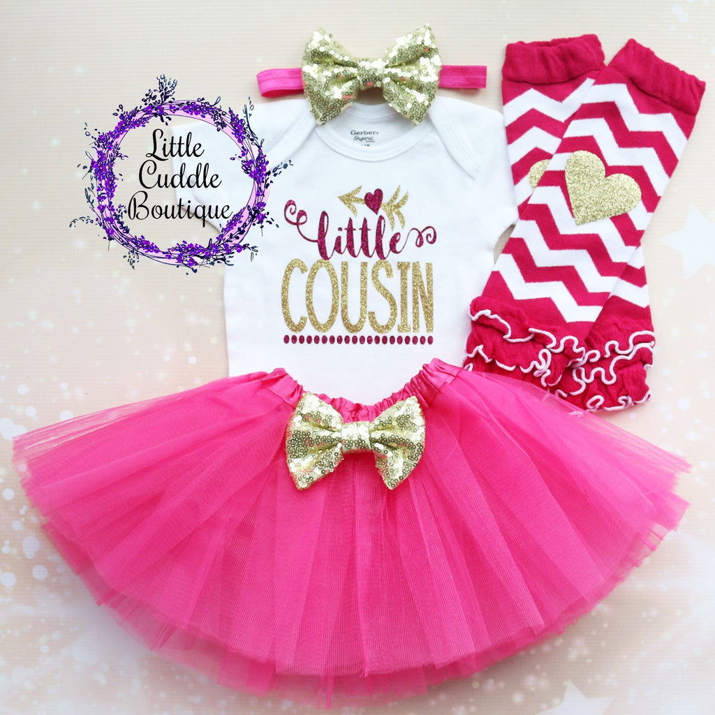 Little Cousin Baby Tutu Outfit