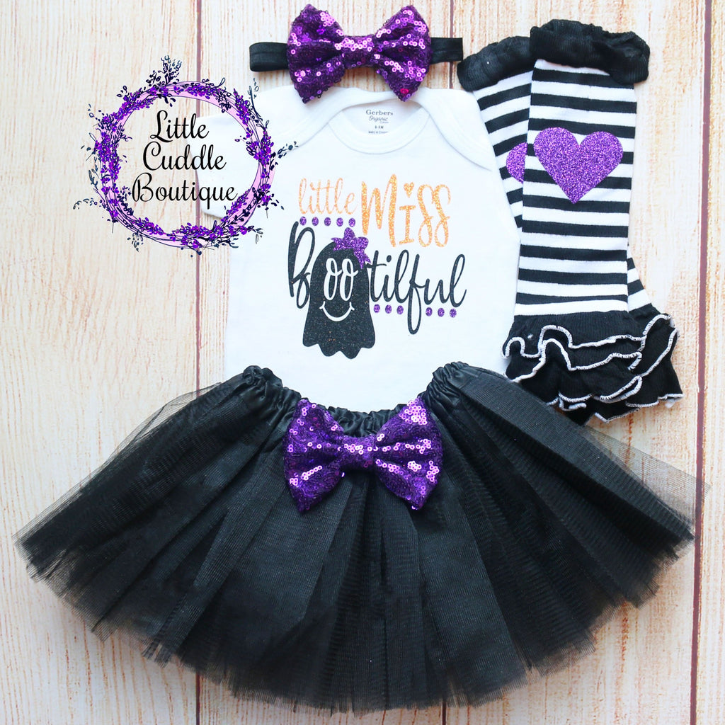 Little Miss Bootiful Baby Tutu Outfit