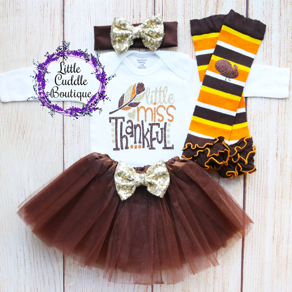 Little Miss Thankful Baby Tutu Outfit