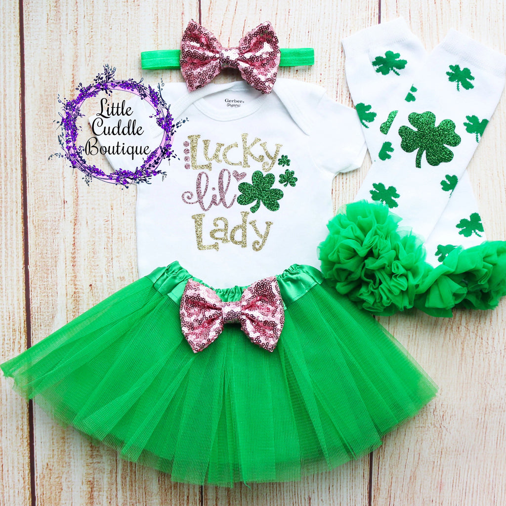 Lucky Little Lady Tutu Outfit