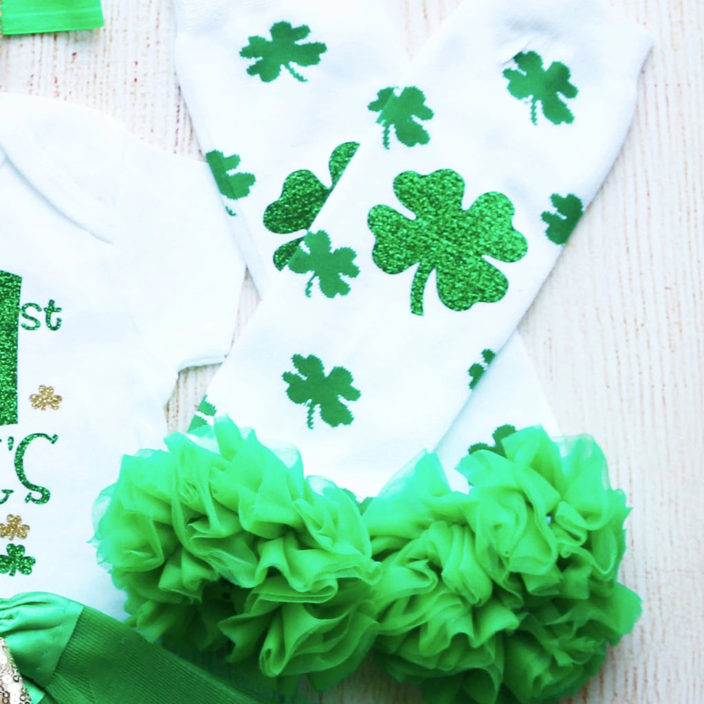 My 1st Saint Patrick's Day Tutu Outfit