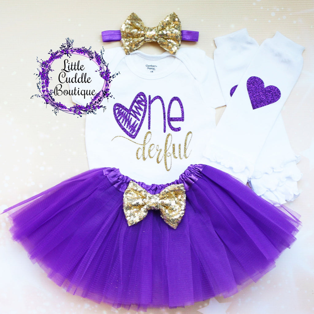 Onederful Birthday Tutu Outfit