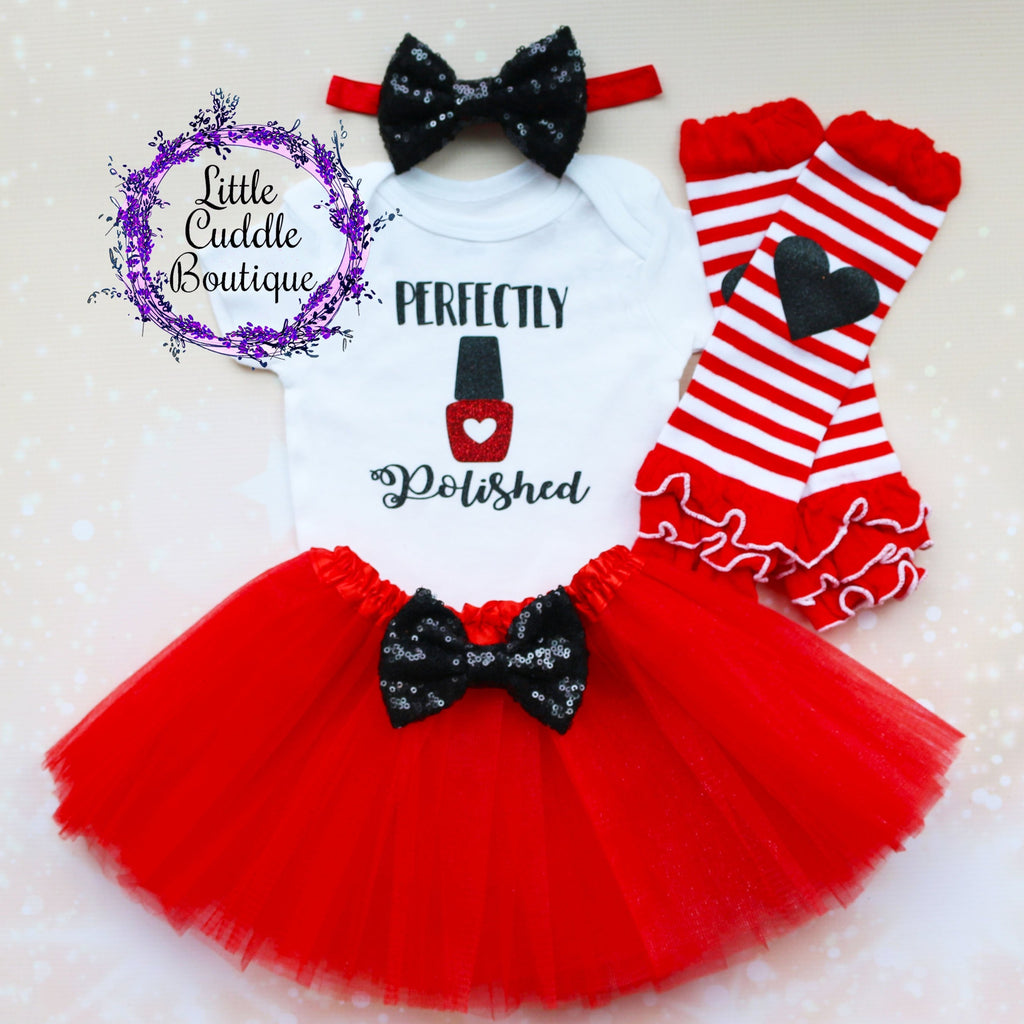 Perfectly Polished Baby Tutu Outfit