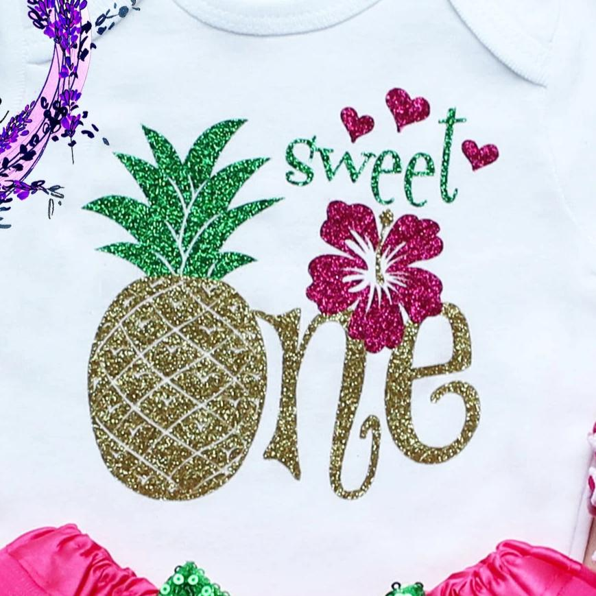 Sweet One Pineapple Birthday Tutu Outfit