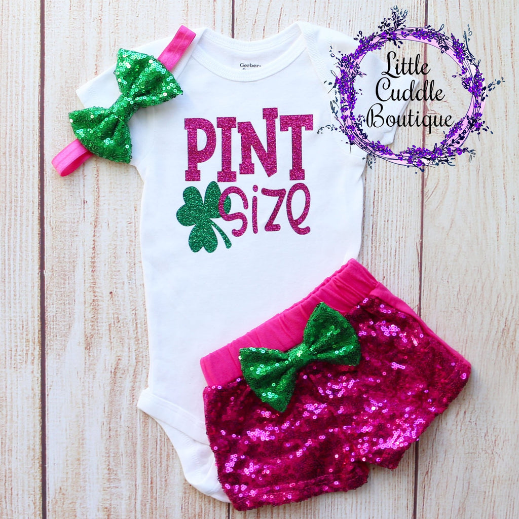 Pint Size Baby Shorts Outfit