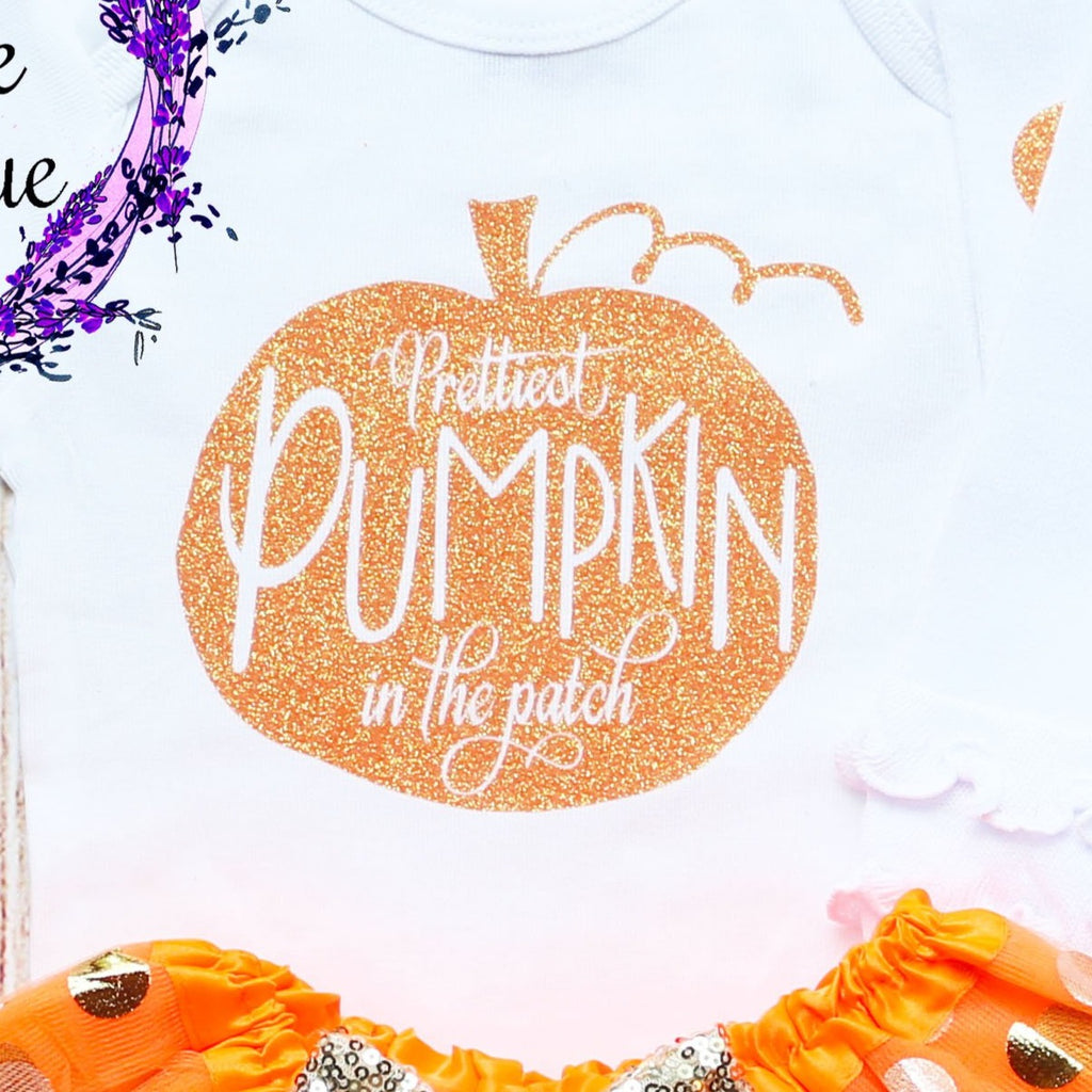 Prettiest Pumpkin In The Patch Baby Tutu Outfit