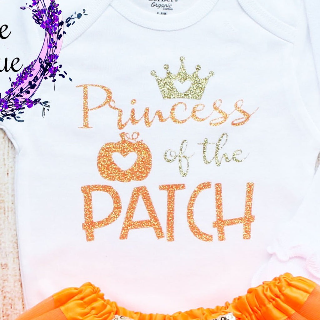 Princess Of The Patch Baby Tutu Outfit