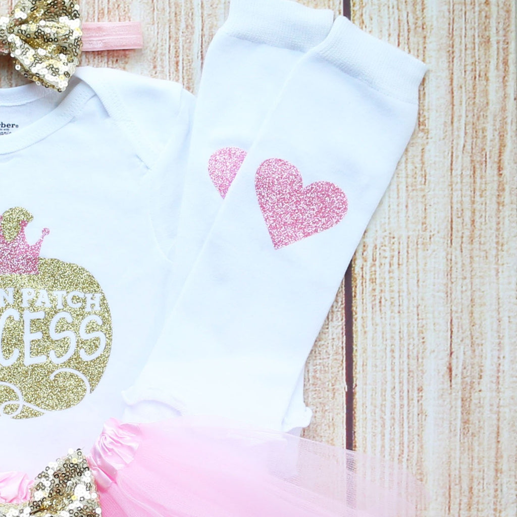 Pumpkin Patch Princess Baby Tutu Outfit