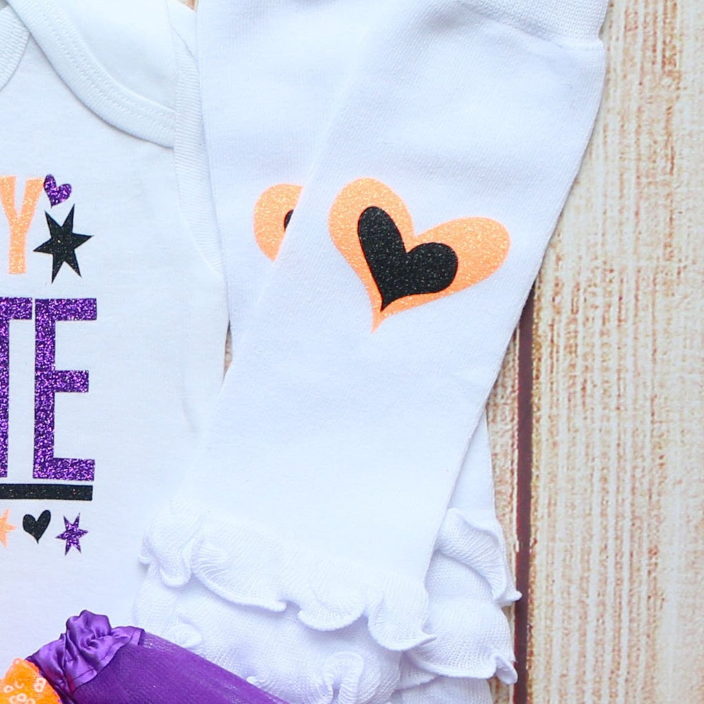 Scary Cute Halloween Baby Tutu Outfit