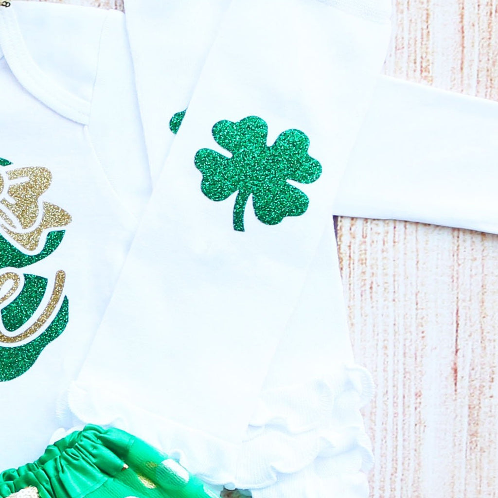 St. Patrick's Day First Birthday Tutu Outfit