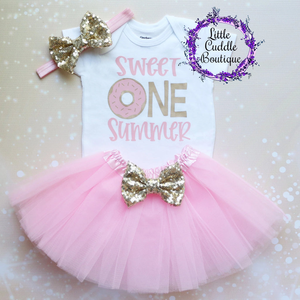 Sweet One Birthday Girl Tutu Outfit