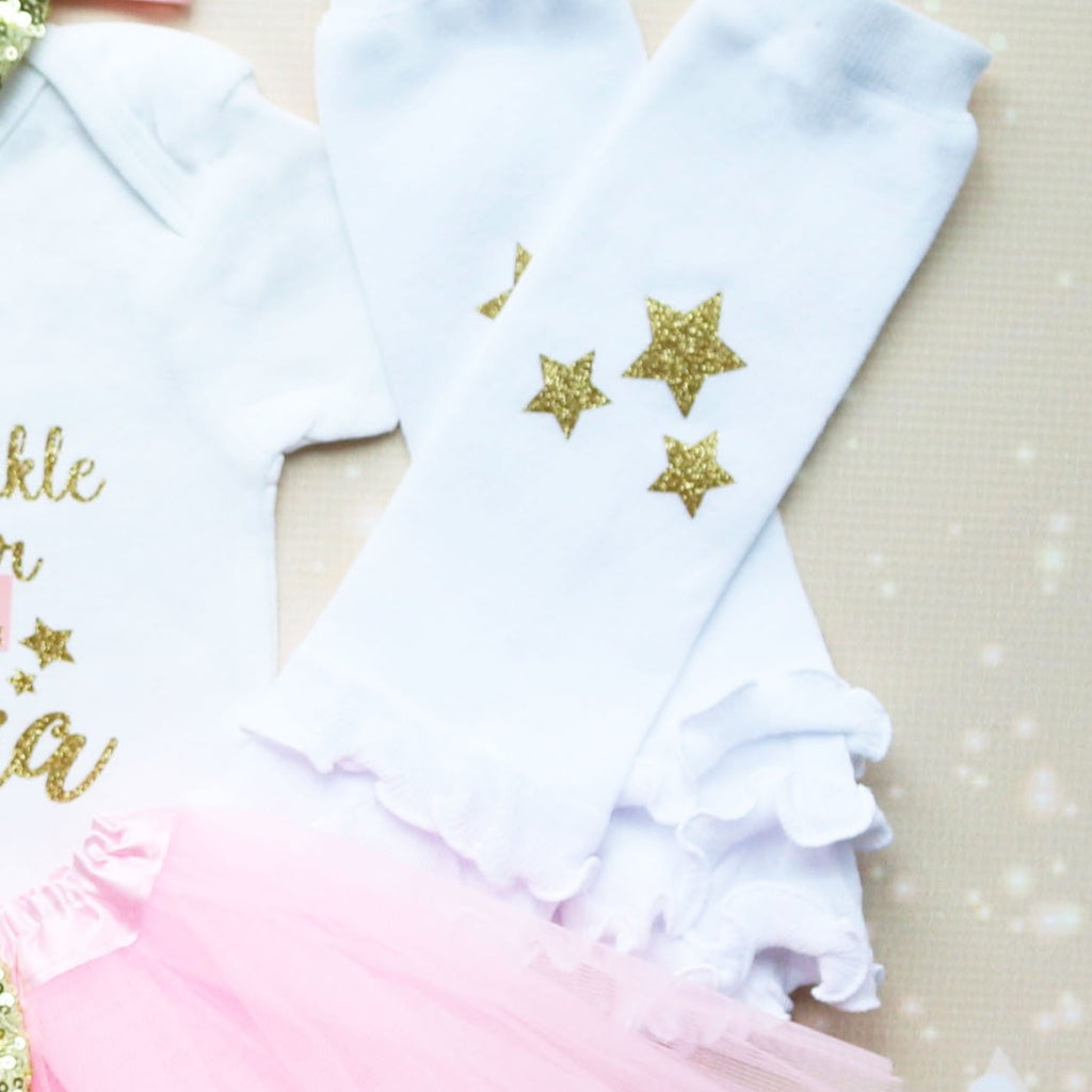 Personalized Twinkle Twinkle First Birthday Tutu Outfit