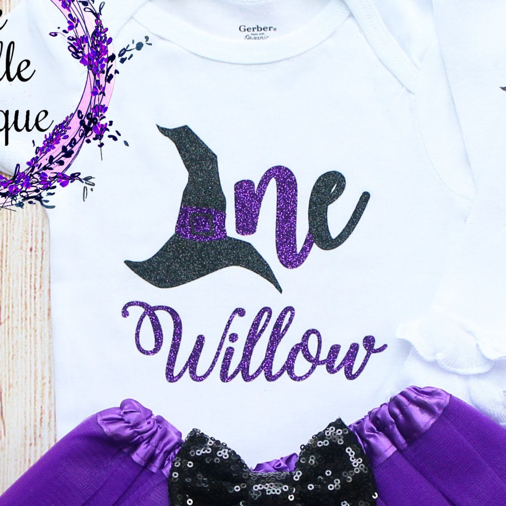 Personalized Witch Birthday Outfit