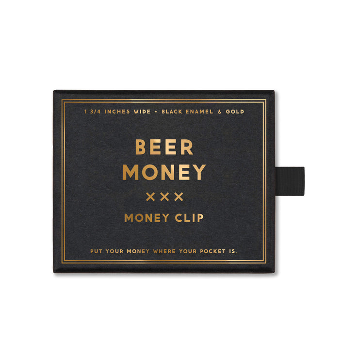 Money Clip Beer Money