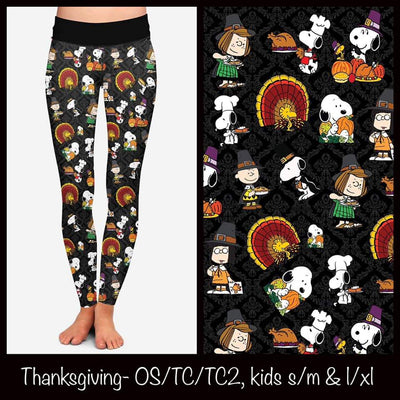Thanksgiving Leggings