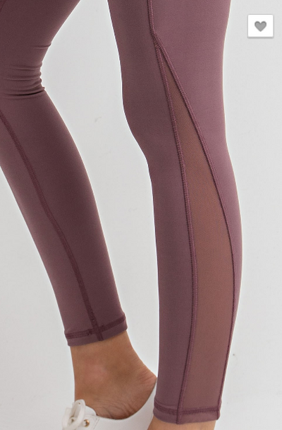Mesh Side Butter Leggings