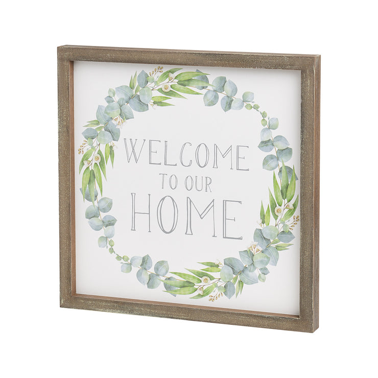 Welcome Home Framed Sign