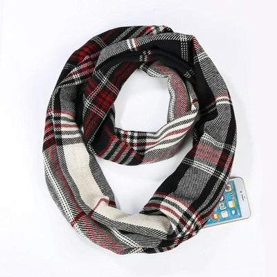 Infinity Scarf with Side Pocket