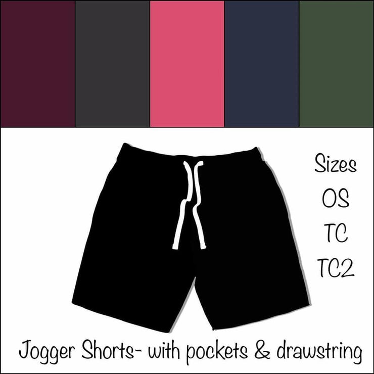 **PRE-ORDER** Solid Color Jogger Shorts