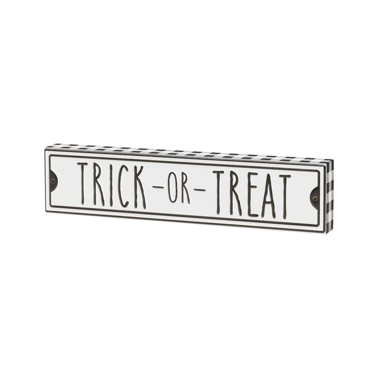 Trick or Treat Box Sign