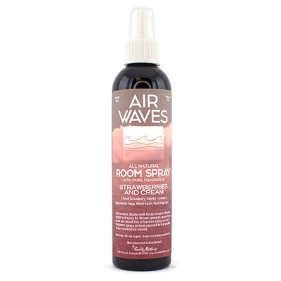 Air Waves Natural Room Spray - Strawberries & Cream