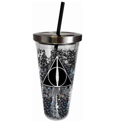 Deathly Hallows Glitter Cup