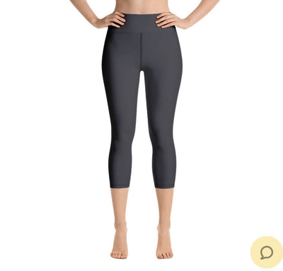 Charcoal Capri Legging