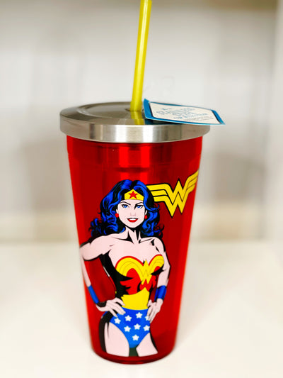 Wonder Woman Stainless Steel Cup