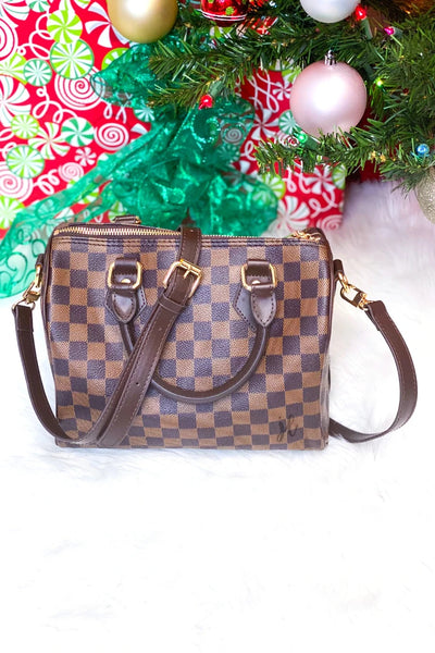 Stella checkered handbag - Pre-order