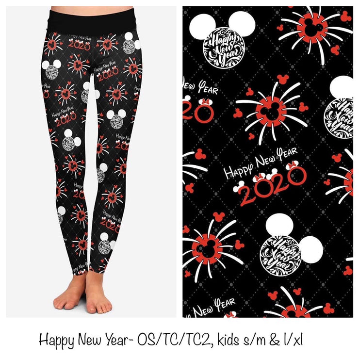 HAPPY NEW YEAR LEGGINGS