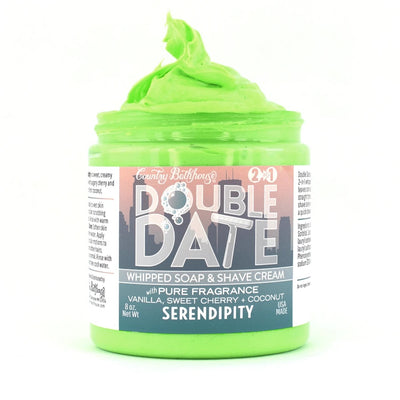 Double Date Whipped Soap and Shave Cream - Serendipit