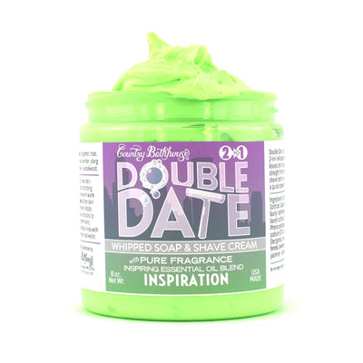 Double Date Whipped Soap and Shave Cream - Inspiration
