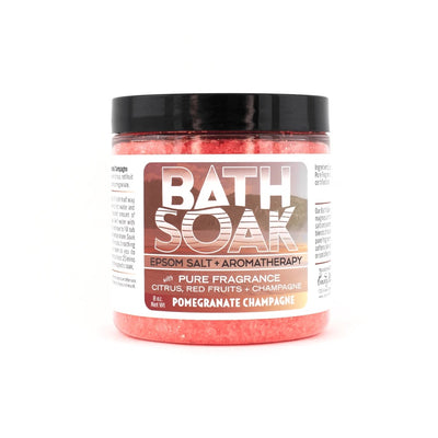 Bath Soak - Pomegranate Champagn
