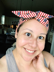 Patriotic Wire headbands